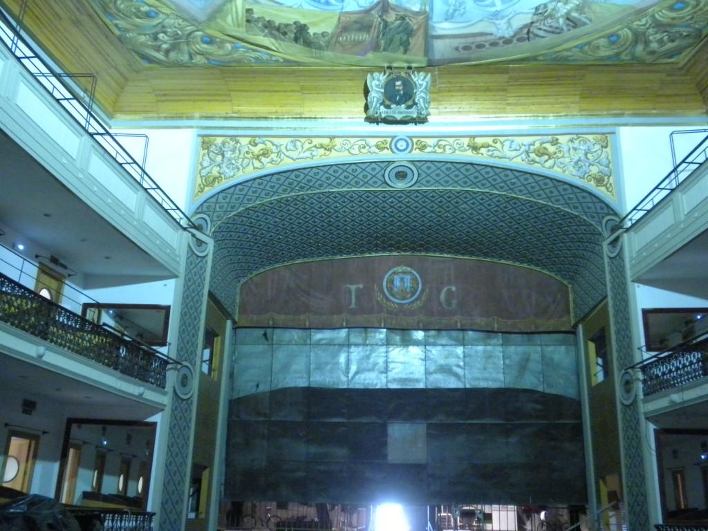 Imagen del Arco de Desembocadura y Bóveda restaurados